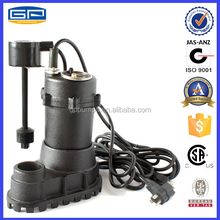 submersible water pump with CSA certification -used water pumps