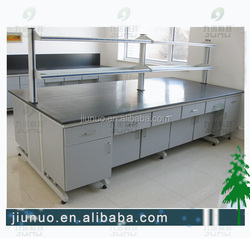 Dental laboratory furniture / dental lab furniture wood table island bench
