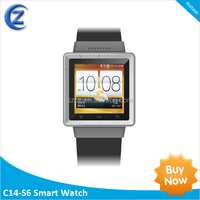 2014 Canton fair new products china factory direct high quality android smart watch mobile phone