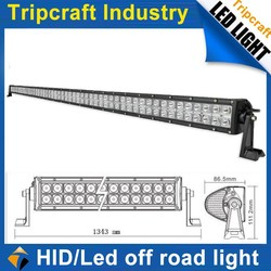 High quality off road 288w led driving light bar, auto led light waterproof