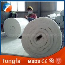 high temperature fire resistant insulation rolls ceramic fiber blanket