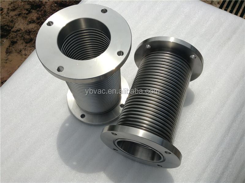 Iso f mm stainless steel bellows sus metal vacuum