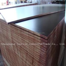 12mm/15mm/18mm poplar core film faced plywood