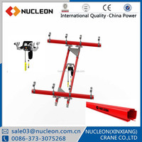 Nucleon 1 ton Electric Chain Hoist used Overhead Crane Jib Crane