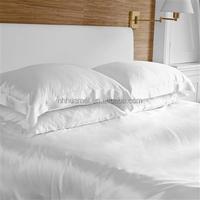comfortable and fashionable pure silk satin hotel bedding set pillow case
