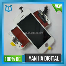 Black LCD Display Screen Touch Digitizer Glass Assembly for Apple iPhone 5S