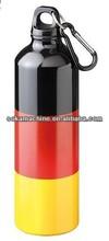 500ml Aluminum SPORTS Bottle with Carabineer