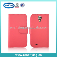 Fashion wallet leather case for samsung galaxy s4
