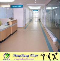 3.0mm thickness pvc hospital vinyl flooring