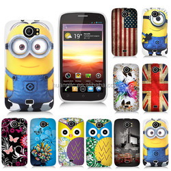 Glossy TPU Printing Gel Soft Rubber Silicone Case For Wiko King Cover Bags