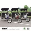 Electric Tourist Taxi Pedicab Rickshaw