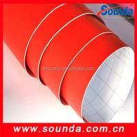 Self adhesive vinyl, self adhesive vinyl wall covering, self adhesive vinyl wallpaper