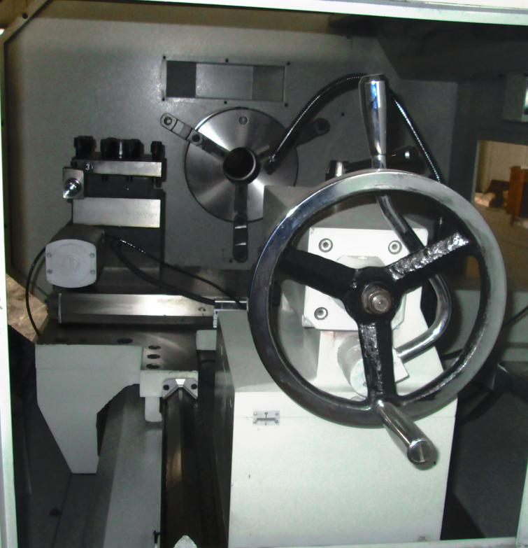 2015, ck6166 большое отверстие токарный станок с чпу машины с низкой ценой