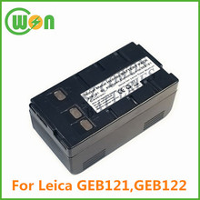 GEB122 Battery for Leica Battery GEB122 replacement 6V 4000mAh NIMH Battery Pack