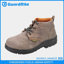 GuardRite leather security shoe soles with steel toe
