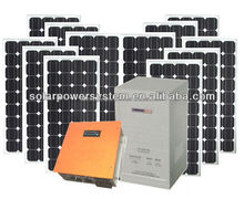 portable solar power 4000W complete home solar power system for small homes