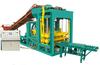 QTJ4-25 semi-auto diesel engine block and brick making machine