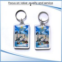 New style wholesale promotional acrylic chain key