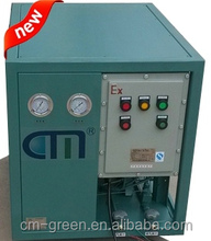 air cooling and water cooling design Automatic Refrigerant recovery/Filling Machine