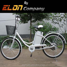 "26"" 24V 12AH steel electric bicycle fast bike (E-TDH08white)"