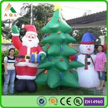 Newest inflatable outdoor lowes inflatable christmas decorations hot sale