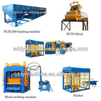 best price paver block making machine for small business