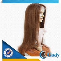 Amazing medium length natural straightly caucasian wigs for white women