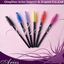 disposable mascara wands,plastic handle eye lash tool