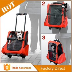 Backpack Pet Carrier with Mesh Windows