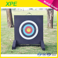 2015 outdoor indoor wholesale durable harmless bow shooting XPE foam archery target
