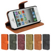 For iPhone 6 For Sony For Galaxy S6 Edge Cell Phones Wallet Leather Case