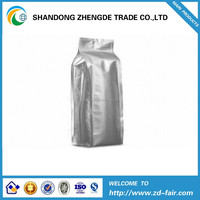 Aluminum foil chocolate packaging bag with zipper/stand up chocolate packing bag