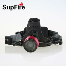 Focusing T6 LED powerful waterproof rechargeable LED working headlamp