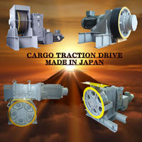 Energy-efficient windlass steelcrafts of Japanese manufacturers for passenger lift