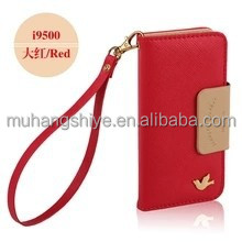 Genuine leather San sung s4 mobile phone sets