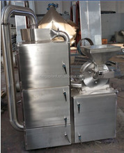herb grinding machine with dust cyclone