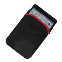 factory price reversible neoprene tablet sleeve case cover pouch fit for Ipad Mini