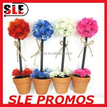 Colour promotion pincushion flower top desk pen