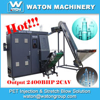 High efficiency and Low production cost Automatic PET bottle making machine for Water bottle