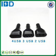 For Ubuntu mobile phone , Newest international usb car charger mobile usb four ports cellphone charger