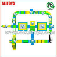 2015 Giant water park, inflatable water park, inflatable floating water park on sea