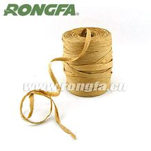 customized various color twisted packing paper raffia