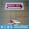 car park signs Directional signs PP plastic corflute