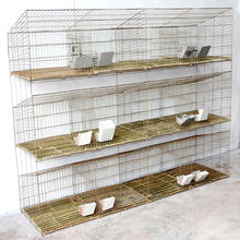 galvanized wire 3 tier bird cage/dog house/ of poultry equipment