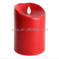 Wholesale flameless paraffin wax led candle light for restaurants