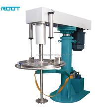 ROOT hydraulic lifting high speed paint disperser agitator