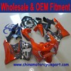 Aftermarket complete set motorcycle fairings body work cowling for CBR900RR 919 98-99 GREY&ORANGE