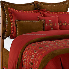 luxury embroidery fashion patckwork comforter sets bedding set made in china nantong hometextile