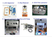 Best offer full set mobile phone repair equipment for broken lcd screen refurbish machine