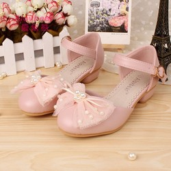 2015 style new arrival and hot sale good quality high heel shoes for children wholesale shoes C C1600-80
